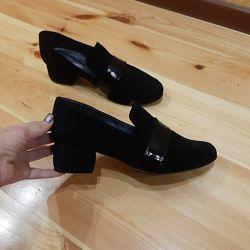 Туфли замша новинка