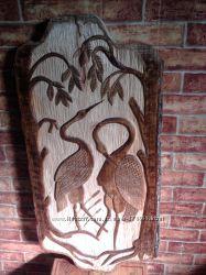Деревянные поделки, картины своими руками