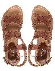 Плетеные кожаные сандалии Bertie Англия. размеры разные