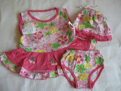Новые летние комплекты для девочек 24-28 размеры