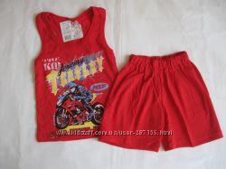 Новые комплекты шорты и майки-борцовки на малышей 26-28 размер