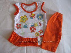 Новые комплекты для малышей на лето 26-28 размеры