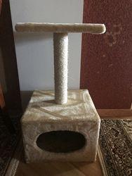 Дряпка домик для кошки
