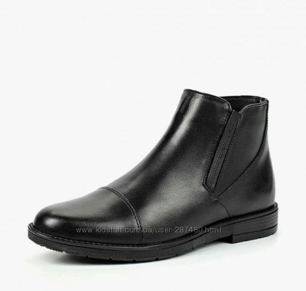 Качественные кожаные деми ботинки