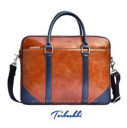 Мужские сумки, планшетки, мессенджеры, почтальонки из натуральной кожи