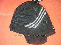 Новая зимняя шапка  Adidas на флисе