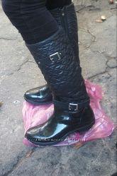 Женские утепленные резиновые сапоги -распродажа.