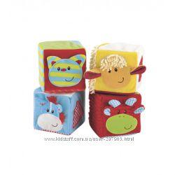 Мягкие кубики ELC Mothercare.