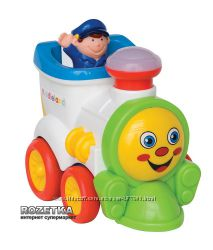 Kiddieland паровоз интерактивная игрушка
