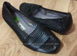 Кожанные туфли 39