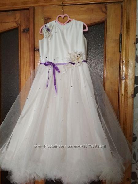 Бальное платье на выпуск