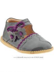 Кожаные туфельки одобренные американскими ортопедами из США