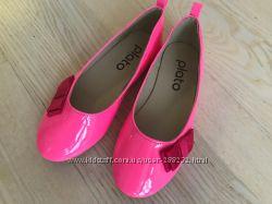 Розовые туфельки лодочки 30р 19см