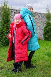 Зимнее пальто Жаклин на девочку