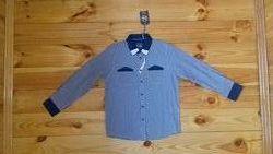 Рубашка Cool Club Новая с этикеткой 134 рост