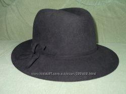 Шляпа женская натуральный фетр
