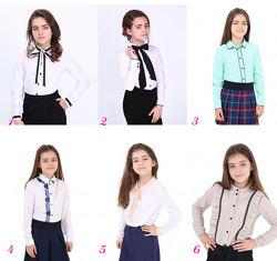 Школьная форма - блузы для девочек - много моделей, все размеры