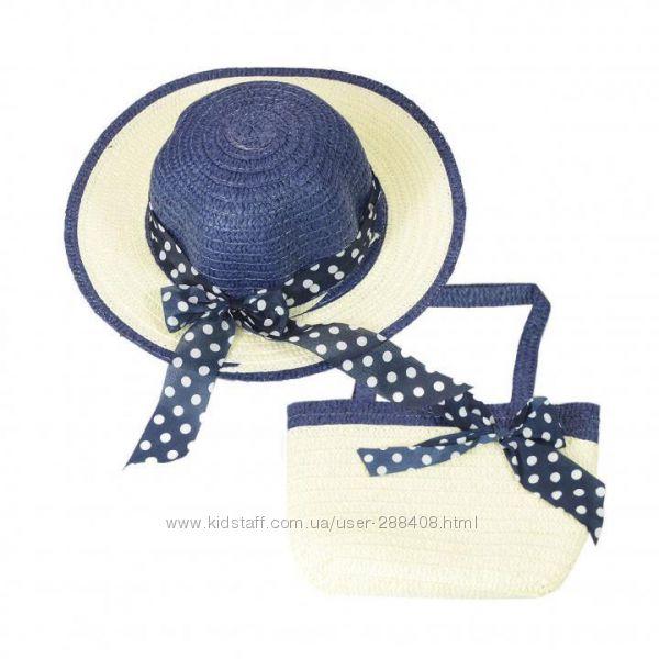 Соломенная шляпка и сумочка - разные модели и цвета