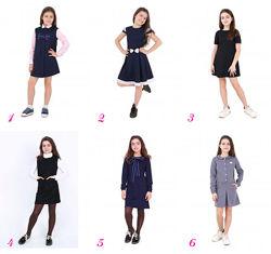 Школьные платья и сарафаны разные, все размеры