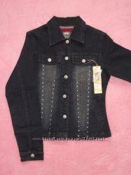 Джинсовый пиджак, р. S 42-44