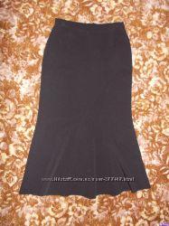 Длинная юбка годе р. 48-50, надета пару раз