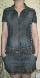 Платье джинсовое стильное летнее