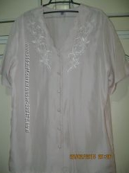 Легкая летняя блузочка 46 размера