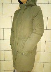 Куртка парка на пуху размер S