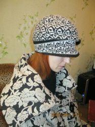 Шляпка теплая на женщину