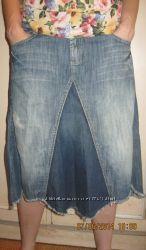 Юбка джинсовая стильная