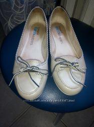 Кожаные туфли балетки Timberland р. 38