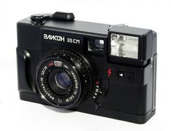 Фотоаппарат Эликон 35 см с возможностью ручной установки диафрагмы