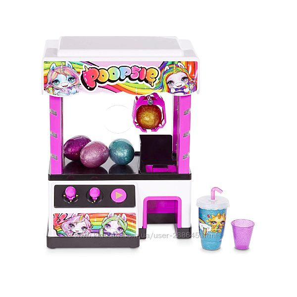 Poopsie Claw Machine игровой автомат с 4 слаймами и 2 игрушками