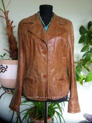 Шкіряна  куртка- піджак, 100  шкіра, 44-46