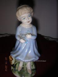 Девочка-фарфор Германия-старинная, редкая