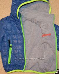 Демисезонная двухсторонняя куртка на мальчиков