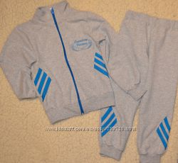 Спортивный костюм из трикотажа двунитки. рост 110-140