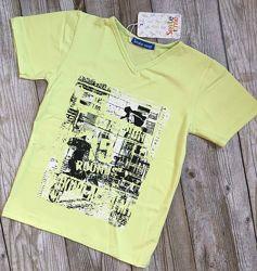 Футболка детская, летние футболки для мальчиков. рост 128-140