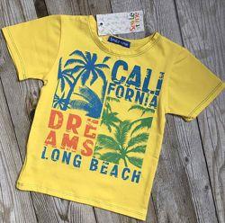 Футболка детская, летние футболки для мальчиков. рост 98-140