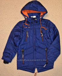 Демисезонная куртка -безрукавка на тонком силиконе, рост 98-122