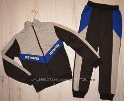 Спортивные костюмы для мальчиков трикотажа. рост 116-158