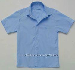 Рубашки с коротким рукавом детские, шведки для мальчиков. рост 122-146