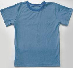Детские однотонные футболки, базовые спортивные футболки. рост 128-158