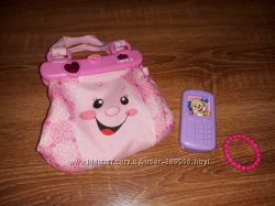 Интерактивная сумочка Fisher price  Laugh & Learn My Pretty Purse
