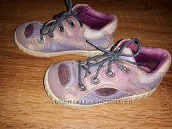 Демисезонные кожаные ботинки Ecco р. 25