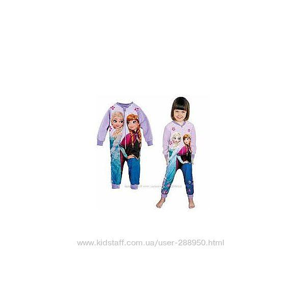 Флисовая пижама слип Disney Frozen р.86-92