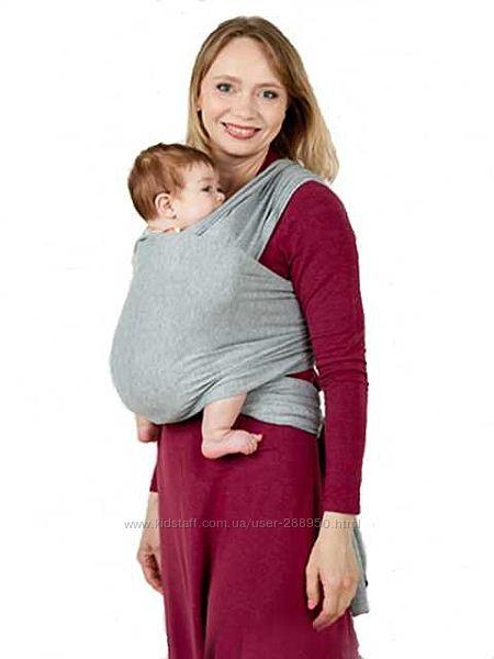Трикотажный слинг шарф до 15кг
