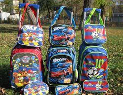 Дорожные наборы 5 в 1 чемодан  сумка косметичка