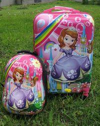 Большие дорожные чемоданы для девочек и мальчиков