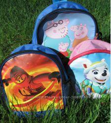 Детский мягкий рюкзак для детского сада
